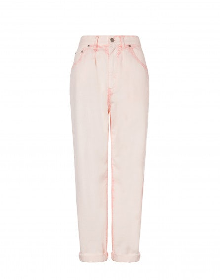 Sorbet Sky Dye five-pocket pants
