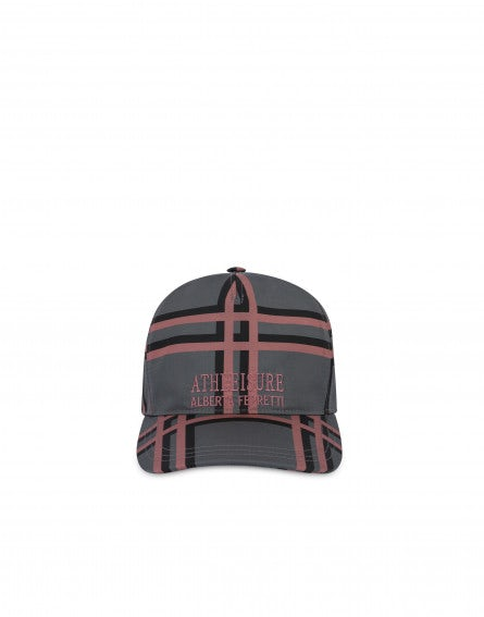 Athleisure recycled nylon hat