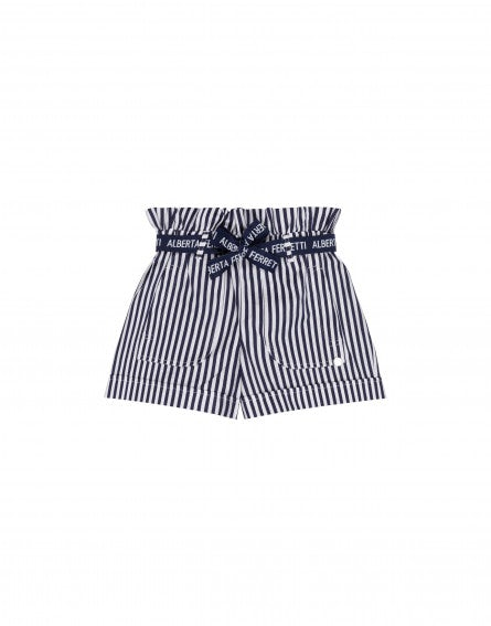 Striped junior shorts