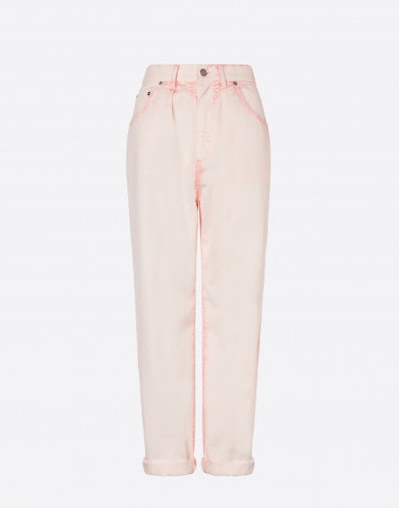 Sorbet Sky Dye five-pocket trousers