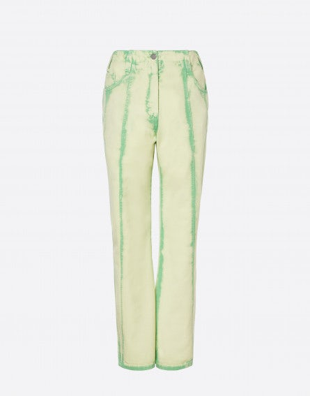 Sorbet Sky Dye green trousers