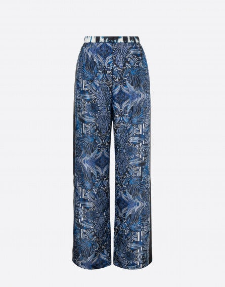 Pantalon habotai Rhapsody In Blue