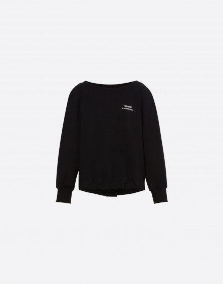 Dreaming sweatshirt with black drawstring