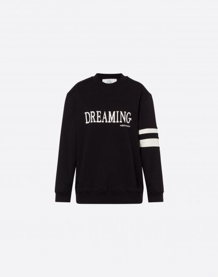 Black Dreaming stretch sweatshirt