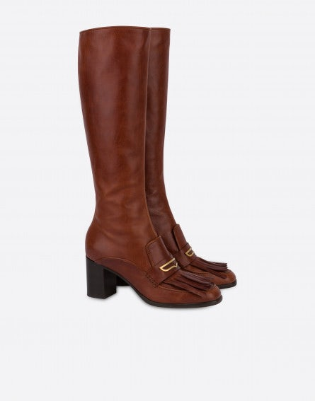 Penny to-the-knee boots