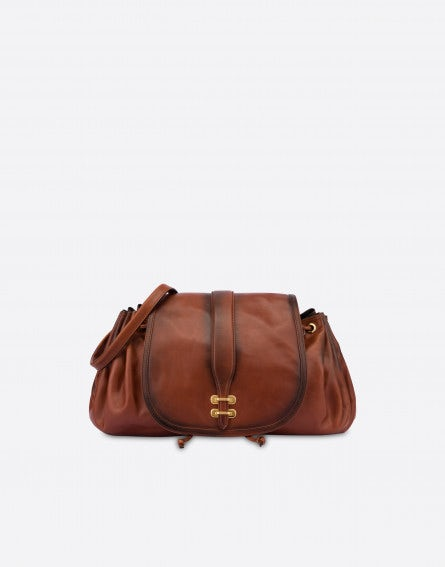 Alby shoulder bag in nappa leather