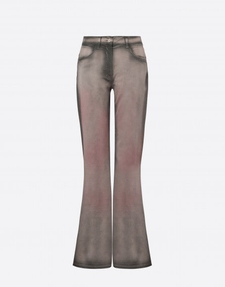 Cloudy Sky Dye Athleisure Trousers