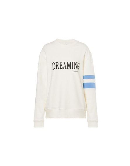 Ivory Dreaming stretch sweatshirt