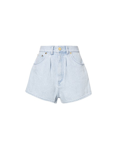Shorts aus Denim