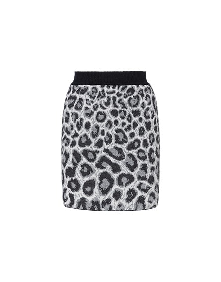 Love Me Wild grey skirt
