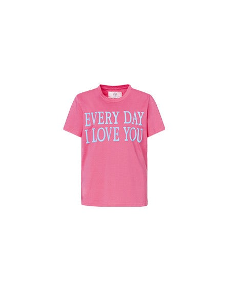 Every Day I Love You pink T-shirt