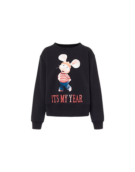 Sweat-shirt It's My Year noir