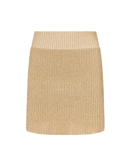 Eco skirt in lurex
